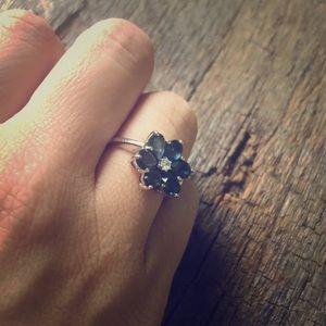 Vera Wang Silver Ring
